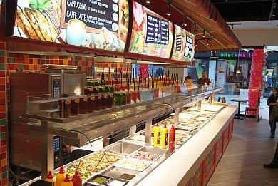 Wygodny Koncept Restauracyjny Dla Dużych I Małych Miast