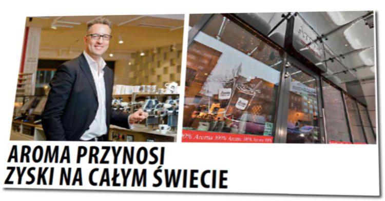 Aroma Expresso Bar przynosi zyski na całym świecie