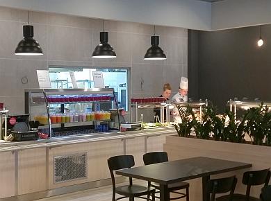 Nowa restauracja sieci Olimp w warszawskim biurowcu New City